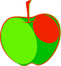 green and red apples clipart. apple green clipart and red apples