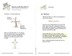 Handwriting Page Progressive Phonics Handwriting