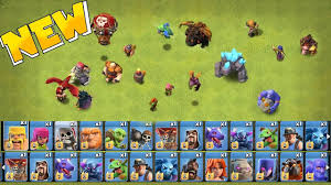 Clash Of Clans Troop Chart