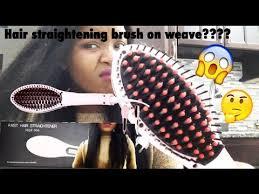 <b>FAST HAIR STRAIGHTENING BRUSH</b> REVIEW - YouTube