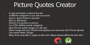 Picture Quotes Creator Magnificent Picture Quotes Android App Admob By Karmainfotech CodeCanyon