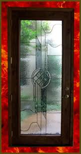 decorative glass panel door inserts