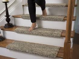 carpet treads. caprice beach bum bullnose carpet stair tread with adhesive padding - 31\ treads