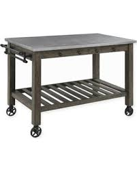 Kitchen island cart industrial Stainless Steel Industrial Kitchen Island With Casters In Gunmetal Better Homes And Gardens New Savings On Industrial Kitchen Island With Casters In Gunmetal