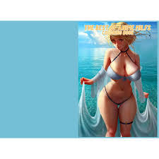 The Best of Anime Milfs Coloring Book by Ada Keenan