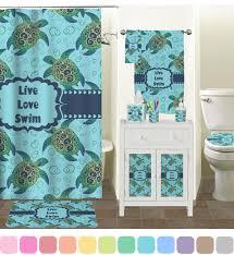 Sea Turtle Bathroom Accessories Sea Turtles Plastic Soap Lotion Dispenser Personalized Potty