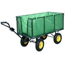 gorilla carts garden dump cart folding aluminum garden cart heavy duty poly utility yard dump wheel barrow gorilla 1 lb gorilla carts poly garden dump cart