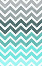 RexLambo Tiffany Fade Chevron Pattern Art Print