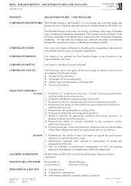 Registered Nurse Job Description For Resume registered nurse job description geminifmtk 29