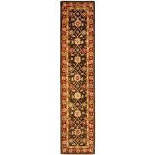 14 foot runner rug olive rust 2 ft x ft runner rug 14 foot long rug 14 foot runner rug