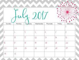 Print July 2017 Calendar | Calendar Template Letter Format ...