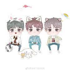 Ghim của Hoàng Văn trên ♡ CHIBI TFBOYS ♡ | Ảnh hoạt hình chibi, Động vật,  Hoạt hình | Ảnh hoạt hình chibi, Động vật, Anime