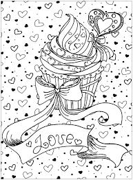 100% free sweet treats coloring pages. Sweet Cupcake Coloring Pages 101 Coloring