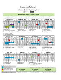 School Calendar 2015 16 Printable 2019 20 School Calendar Barnet School