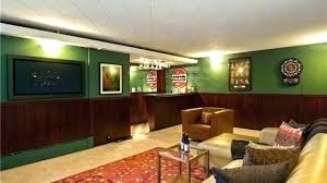 Rec room lighting Exposed Beam Rec Room Furniture Ideas Decorating Recreation Glamorous Basement Rooms Strong With Bar Layout Lighting Basement Rec Room Djbrad Anderson Basement Rec Room Color Ideas Latest Decoration Home Gallery Image