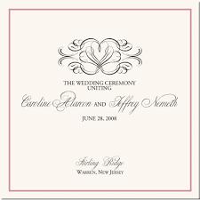 Wedding Ceremony Program Cover Wedding Program Covers Savebtsaco Wedding Program Covers Gratulfata