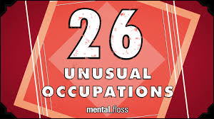 26 Unusual Occupations Mental_floss On Youtube Ep 215 Youtube