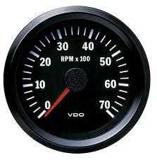333015032 cockpit vision gauge tachometer vdo cockpit vision tachometer electric