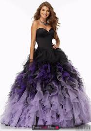 gown prom Picture - More Detailed Picture about 2017 Black Purple ...