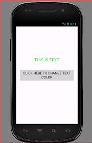 Set Text Color In Android Programmatically Textview UOqwAqa4