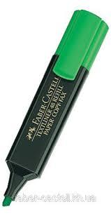 <b>Маркер</b> Текстовый <b>Faber</b>-<b>Castell Textliner REFILL</b> 1548 Зеленый ...