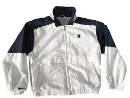 size of supreme court vintage 90s nike supreme court pete sampras windbreaker jacket white