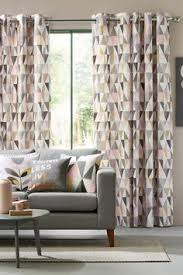 Small Picture Textured Geo Print Eyelet Curtains House Pinterest Room