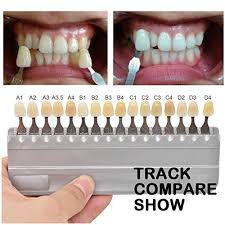 Amazon Com 1 Set 16 Colors 3d Teeth Whitening Shade Guide