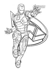 Here in this cool illustration showing him flying in the sky, you can see one of his gauntlets is opening up to the fire while the other hand is clenched in an iron fist. Free Easy To Print Iron Man Coloring Pages Tulamama