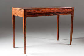 low console table. Low Console Table For Modern Style In Rosewood With Brass Details At L