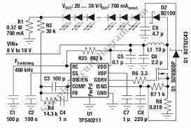high brightness led driver simple circuit diagram high brightness led driver