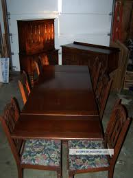 bernhardt furniture dining room. Antique Early 1900 \u0027 S Bernhardt Furniture Company Dark Wood Dining Room Suite