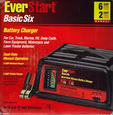 amazon com everstart wm 82 6 basic six battery charger automotive everstart starter 50 manual download at Everstart Battery Charger Wiring Diagram