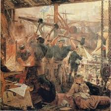 what major influence did the industrial revolution have on art they wanted to show life as it really was they wanted to give labourers something they could relate to and fearlessly paint the harsh realities and