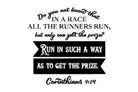 Freesvg.org offers free vector images in svg format with creative commons 0 license (public domain). Do You Not Know That In A Race All The Runners Run But Only One Gets