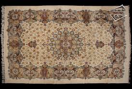 persian kashan oversize carpet 105 x 157