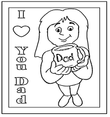 Small Picture I love you daddy coloring pages ColoringStar