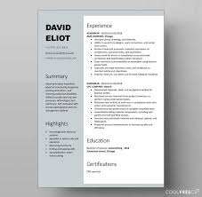 resume templates resume templates examples free word doc