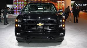 chevrolet trucks 2015 black.  Black 2015 Chevy Silverado Custom Sport Is Subtle In Black Silverado  And Chevrolet Trucks Black V