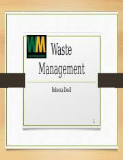 Fil 246 Waste Management Accounting Scandal - .
