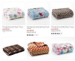 Kohls Throw Blankets Classy HOT Kohl's Big One Plush Throw Blankets Only 3232 Reg 3232