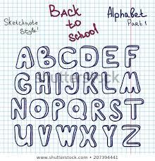 Unusual Alphabet Graph Alphabet Block Letters On Graph Paper
