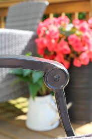 great tips on how to clean and maintain metal patio furniture to prolong its lifespan