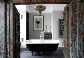 To Da Loos Vintage Black Painted Ball And Claw Foot Bathtubs Painting Bathtub Black