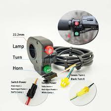 24V/36V/48V/60V Đèn Pha Trước Đèn Sau Cho Xe Đạp Điện Đèn LED nhấp Nháy Đèn  Trợ Sáng Đèn Pha Xe Đạp Tự Làm EBike Phụ Kiện Phụ Kiện Xe Đạp Điện