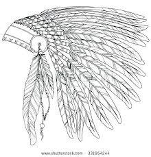 Smartness Ideas American Indian Coloring Pages Native Chief