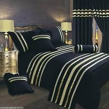 black and gold double bedding sets awesome trim glamour king size prepare