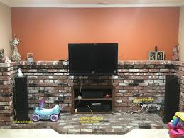 fireplace area remodel ideas with half