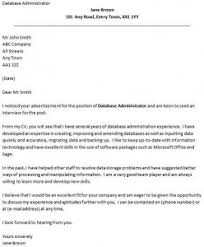 database administrator cover letter example icoverorguk database administrator cover letter