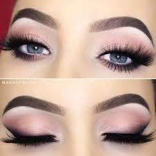 pretty makeup ideas for blue eyes